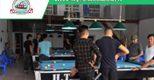 Billiards Hoàn Thúy lắp đặt 4 bàn bi a 9018 tại Yên Bái