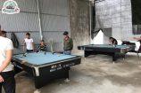Hoàn Thúy lắp đặt thành công 2 bàn 9018 Việt Nam tại bi a Duy Hùng khu Đầm Cả, Hương Canh, Vĩnh Phúc
