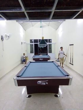 Billiards Hoàn Thúy lắp hai bàn bi a 9018 aileex tại Lạng Sơn