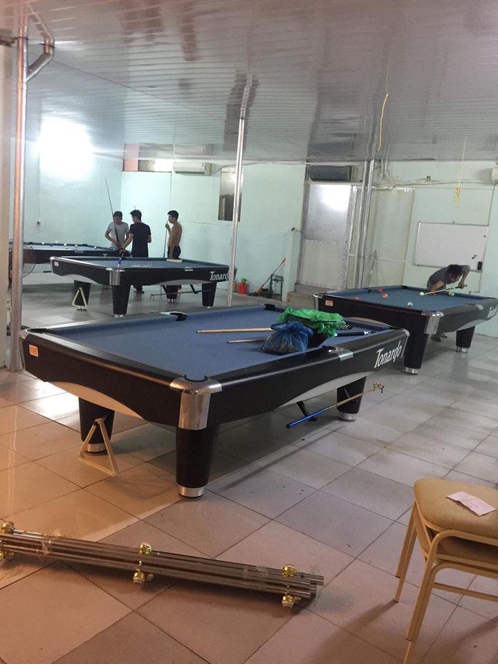 Billiards Hoàn Thúy lắp đặt bàn bi a 9017 liên doanh Taiwan tại Hà Nội