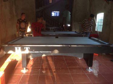 Billiards Hoàn Thúy lắp ba bàn 9018 Việt Nam tại Hà Nam