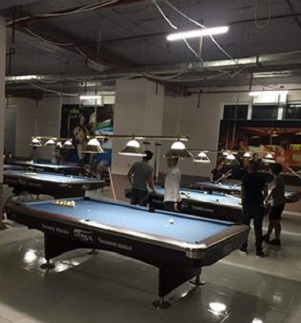 Billiards Hoàn Thúy lắp đặt 7 bàn bi a aileex 9019 tại Hà Đông