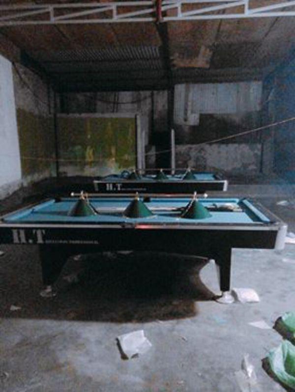 Billiards Hoàn Thúy lắp đặt 2 bàn bi a 9018 liên doanh Taiwan tại thành phố Lào Cai