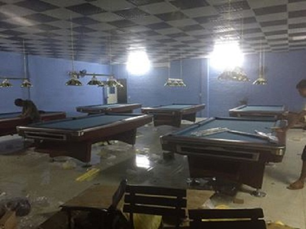 Billiards Hoàn Thúy lắp đặt 3 bàn bi a 9018 Việt Nam tại Thái Nguyên