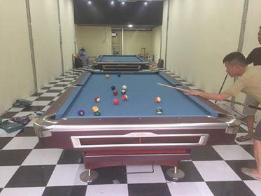 Billiards Hoàn Thúy lắp 2 bàn aileex 9019 tại Bắc Ninh