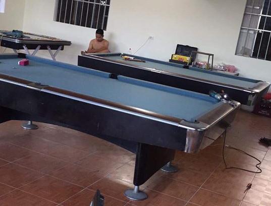 Billiards Hoàn Thúy lắp 2 bàn Aileex Seri 4 tại Nam Định
