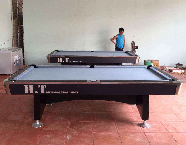 Billiards Hoàn Thúy lắp 2 bàn 9018 Việt Nam tại Quảng Ninh