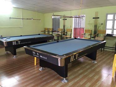Billiards Hoàn Thúy lắp 2 bàn bi a 9018 Việt Nam tại Hưng Yên