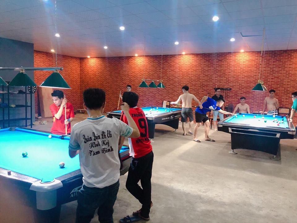 Billiards Hoàn Thúy lắp 3 bàn 9019 Aileex tại Quảng Ninh