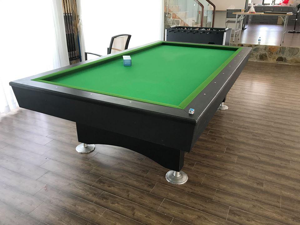 Billiards Hoàn Thúy lắp 1 bàn carom và 1 bàn bi lắc tại Vĩnh Phúc
