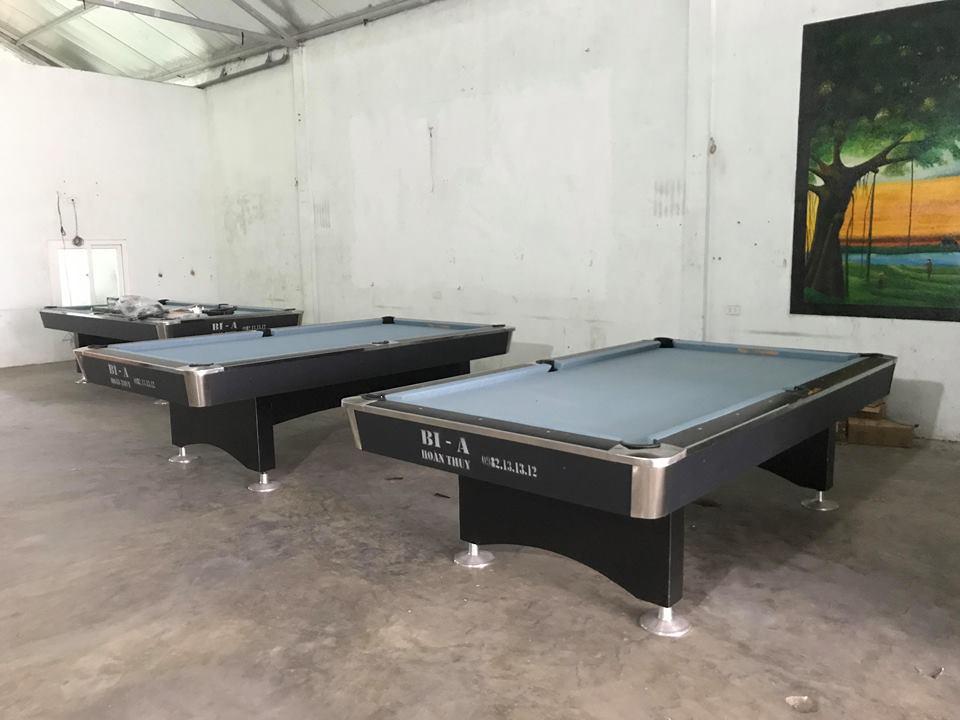 Billiards Hoàn Thúy lắp đặt 3 bàn bi a 9018 Việt Nam tại Can Lộc – Hà Tĩnh