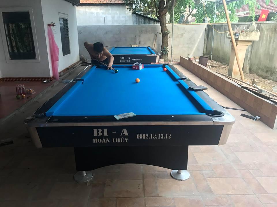Billiards Hoàn Thúy lắp 2 bàn 9018 tại Nghệ An