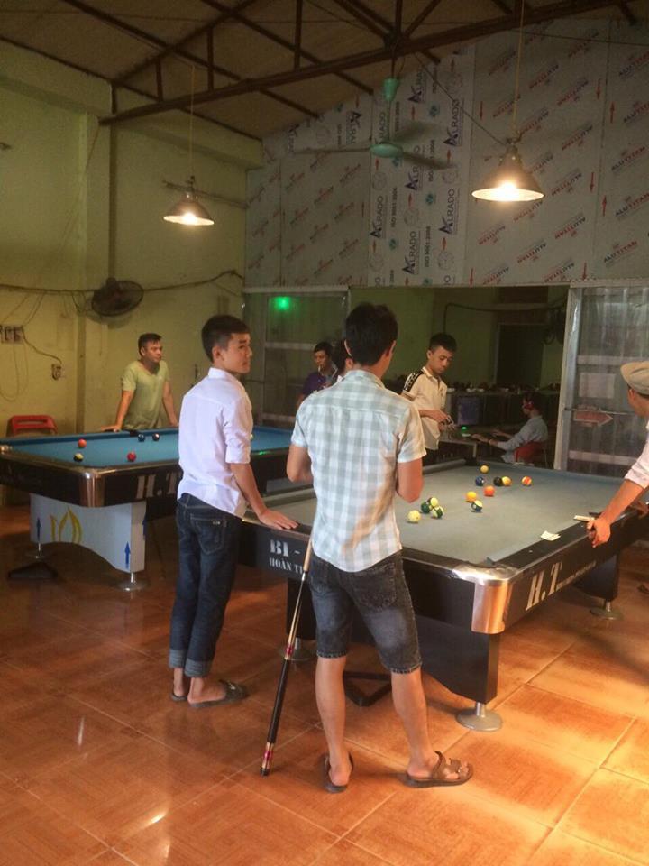 Billiards Hoàn Thúy lắp 2 bàn 9018 tại Hoài Đức - Hà Nội