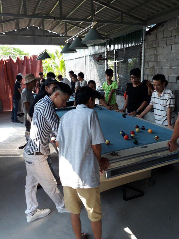 Billiards Hoàn Thúy lắp 2 bàn bi a 9019 đã qua sử dụng tại Vũ Thư – Thái Bình