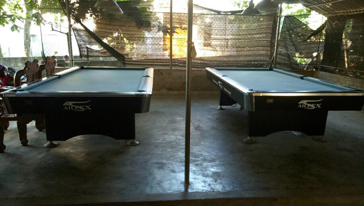 Billiards Hoàn Thúy lắp 2 bàn bi a Aileex 9018 tại Ân Thi – Hưng Yên