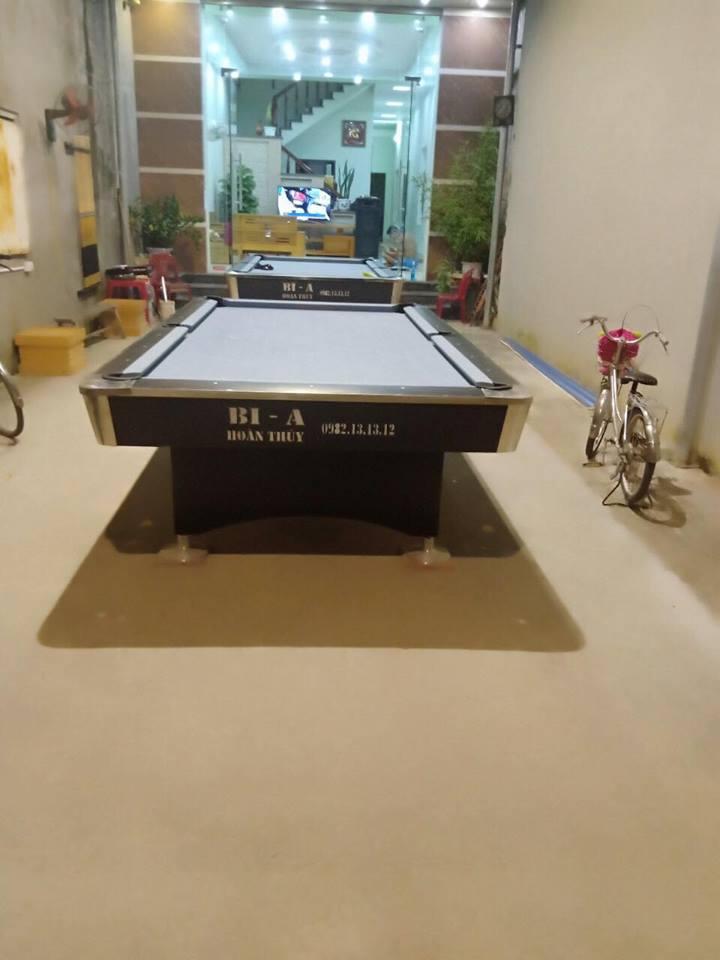 Billiards Hoàn Thúy lắp đặt 2 bàn bi a 9018 tại Kiến Thụy Hải Phòng