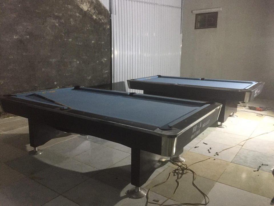 Billiards Hoàn Thúy lắp đặt 2 bàn bi a 9018 Việt Nam tại Đông Hải, Thanh Hóa