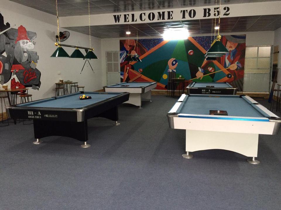 Billiards Hoàn Thúy lắp đặt 4 bàn bi a 9018 Việt Nam tại Đan Phượng, Hà Nội