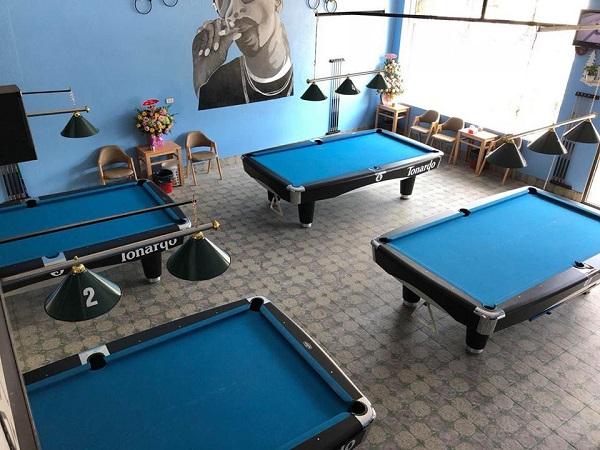 Billiards Hoàn Thúy lắp đặt 4 bàn bi a Tonardo tại Cẩm Phả, Quảng Ninh
