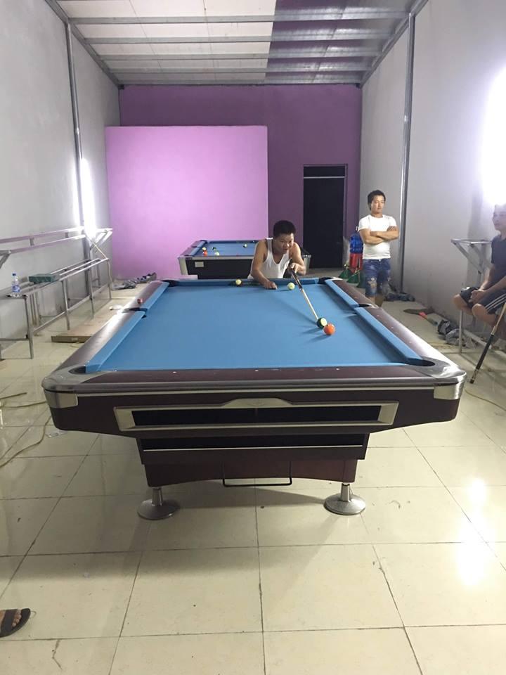 Billiards Hoàn Thúy lắp đặt 2 bàn bi a 9018 và 9019 tại Hải Hà, Quảng Ninh