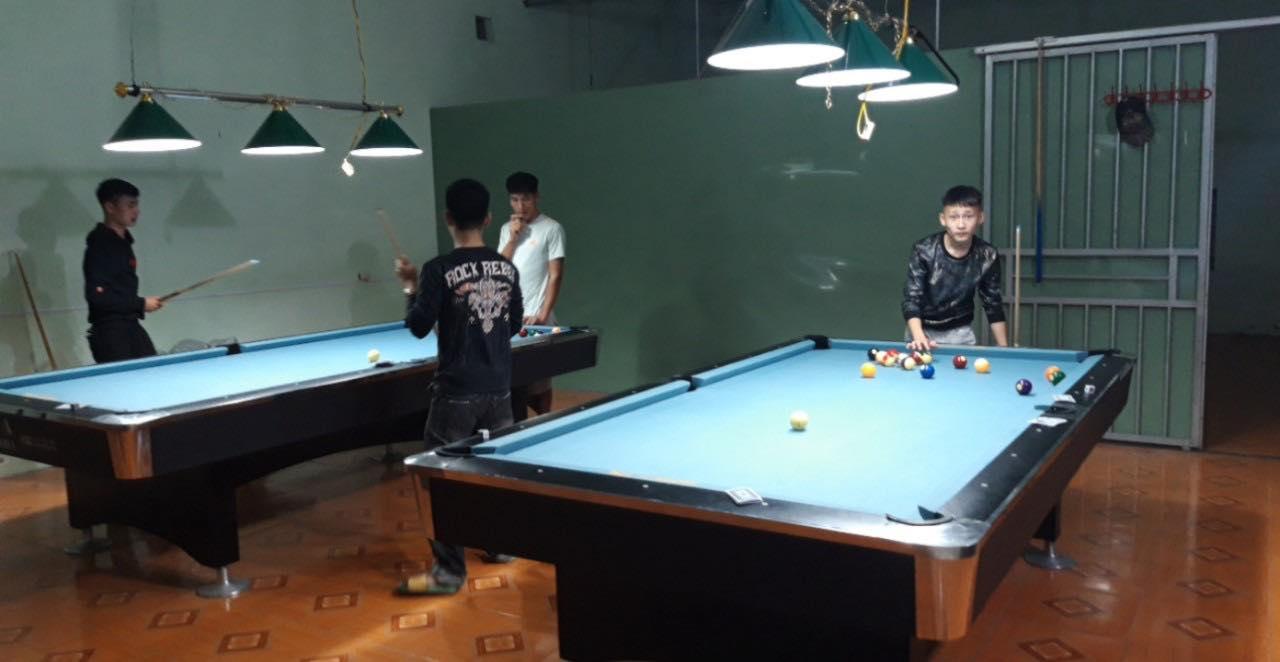 Billiards Hoàn Thúy lắp đặt 2 bàn bi a 9018 Việt Nam tại huyện An Dương, Hải Phòng