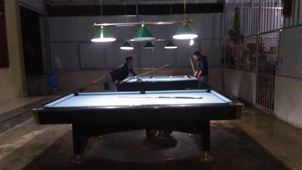 Billiards Hoàn Thúy lắp đặt 2 bàn bi a 9018 Việt Nam tại huyện Can Lộc, Hà Tĩnh