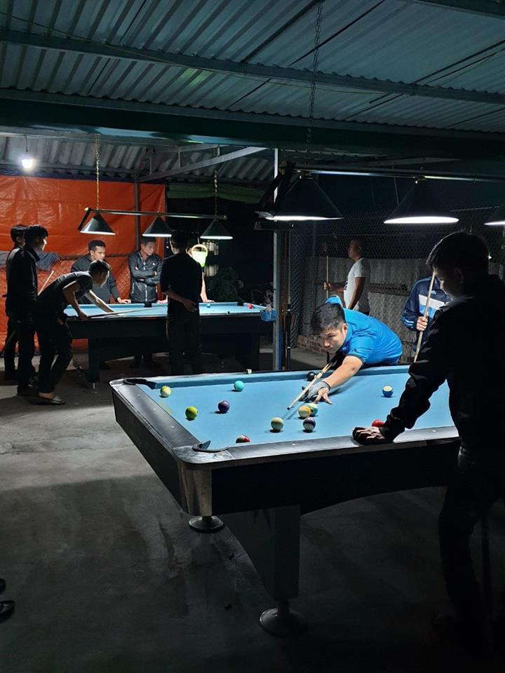Billiards Hoàn Thúy lắp đặt 3 bàn bi a 9018 Việt Nam tại Phường Võ Cường, Thành phố Bắc Ninh