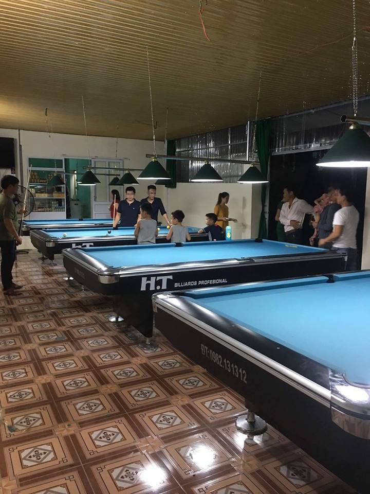 Billiards Hoàn Thúy lắp đặt 4 bàn bi a 9019 liên doanh Taiwan tại Nông Cống, Thanh Hóa