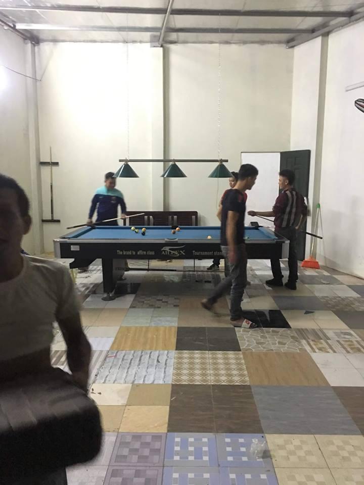 Billiards Hoàn Thúy lắp đặt thêm 2 bàn bi a 9018 đã qua sử dụng tại Thạch Thất, Hà Nội