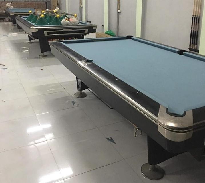 Billiards Hoàn Thúy lắp đặt 2 bàn bi a Aileex 9019 đã qua sử dụng tại Yên Phong, Bắc Ninh