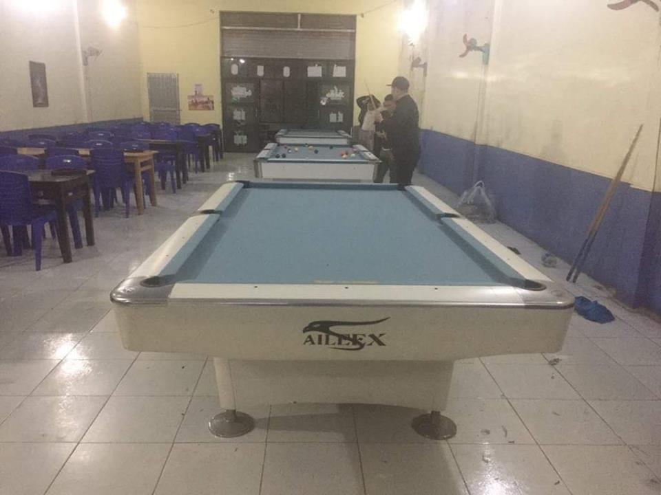 Billiards Hoàn Thúy lắp đặt 3 bàn bi a Aileex Seri 4 đã qua sử dụng tại Hậu Lộc, Thanh Hóa