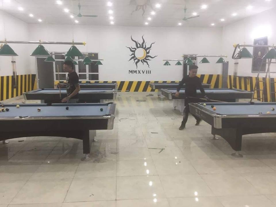 Billiards Hoàn Thúy lắp đặt 6 bàn bi a 9018 Việt Nam tại Tân Lạc – Hòa Bình