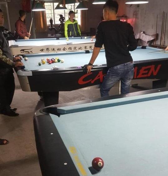 Billiards Hoàn Thúy lắp đặt 3 bàn bi a 9017 và Seri 4 đã qua sử dụng tại Hải Hậu, Nam Định