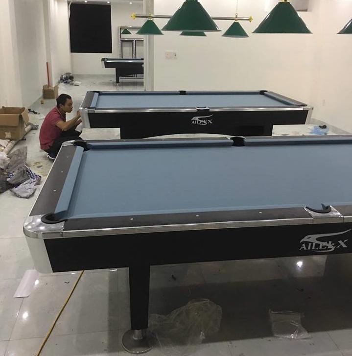Billiards Hoàn Thúy lắp đặt 3 bàn bi a 9018 liên doanh Taiwan tại Phùng Chí Kiên – Thành phố Nam Định