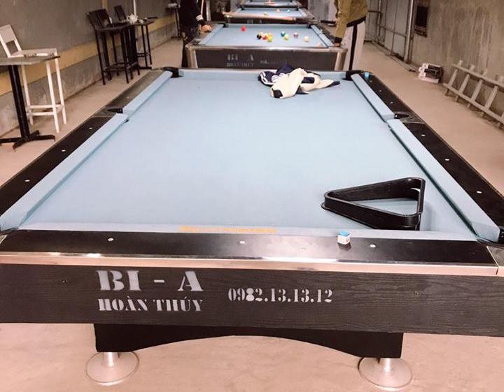 Billiards Hoàn Thúy lắp đặt 4 bàn bi a 9018 Việt Nam tại Khoái Châu – Hưng Yên