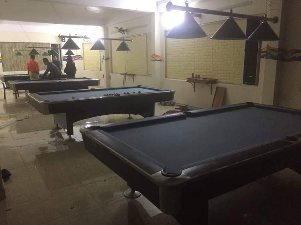 Billiards Hoàn Thúy lắp đặt 4 bàn bi a 9018 Việt Nam tại Ý Yên – Nam Định