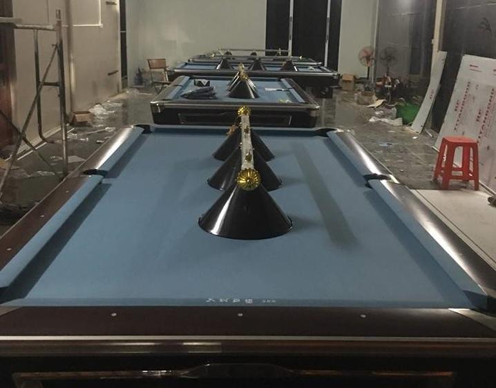 Billiards Hoàn Thúy lắp đặt 4 bàn bi a bàn 9019 Brunswick tại Mỹ Đức, Hà Nội