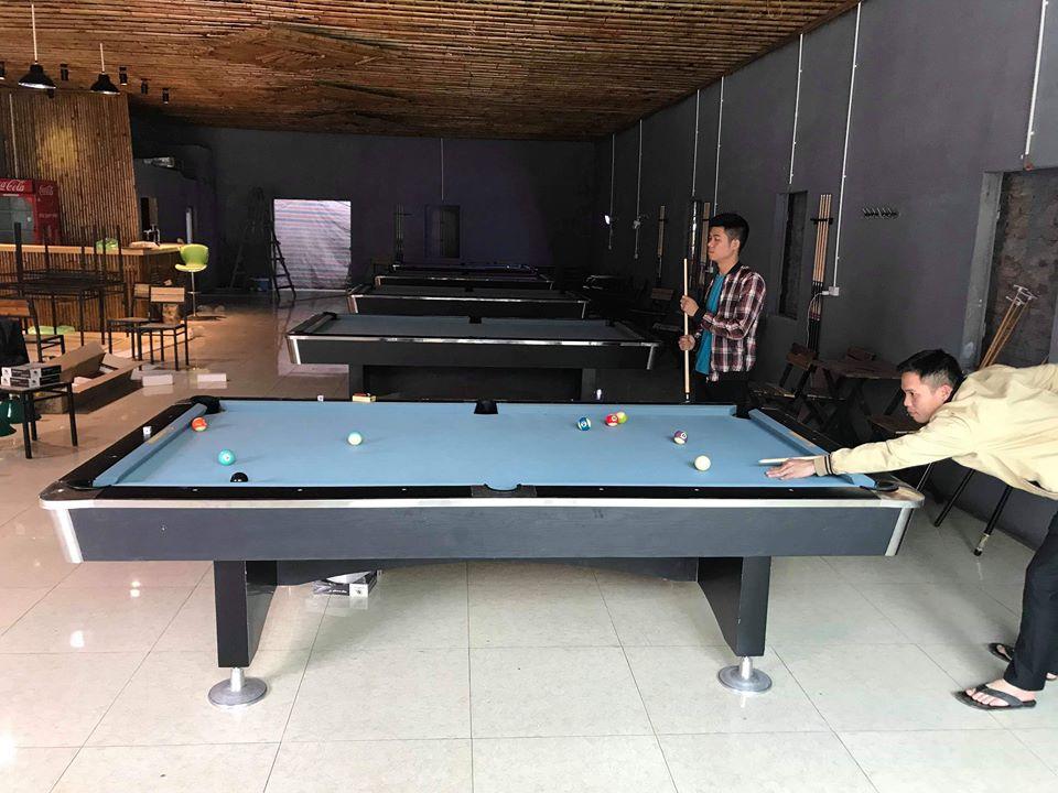 Billiards Hoàn Thúy lắp đặt 5 bàn bi a 9017 Việt Nam tại Quốc Oai, Hà Nội