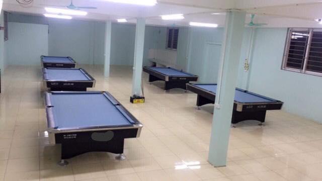 Billiards Hoàn Thúy lắp đặt 5 bàn bi a 9018 Việt Nam tại Gia Lâm – Hà Nội