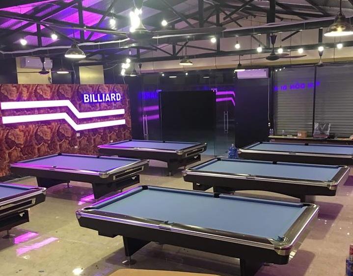 Billiards Hoàn Thúy lắp đặt 6 bàn bi a bàn 9019 Brunswick Vân Đồn – Quảng Ninh