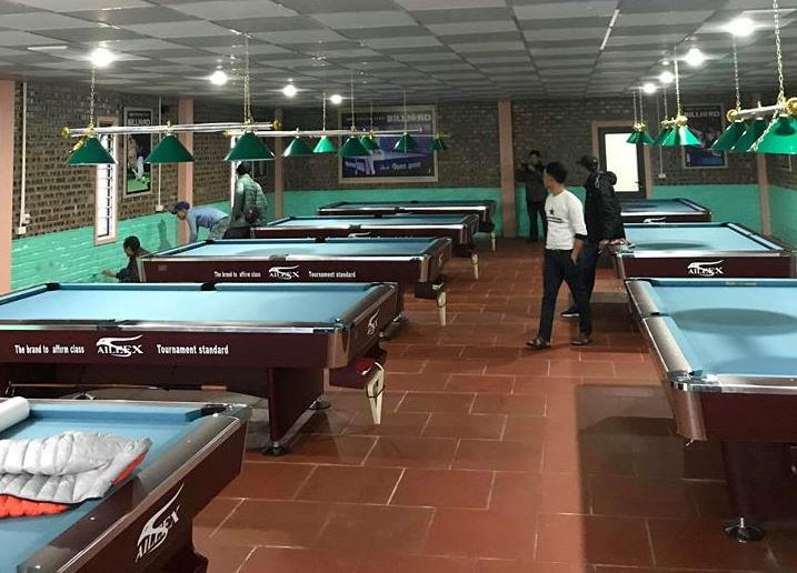 Billiards Hoàn Thúy lắp đặt 8 bàn bi a Aileex 9018 Thành phố Việt Trì – Tỉnh Phú Thọ