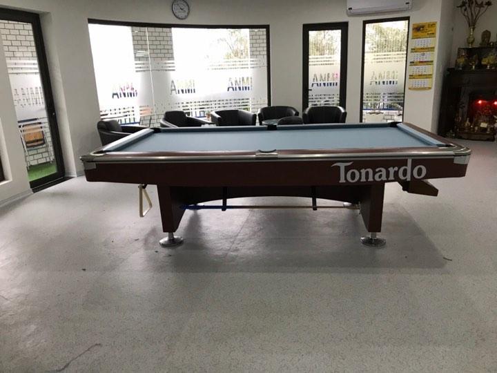 Billiards Hoàn Thúy lắp đặt 1 bàn bi a 9019 Tonardo tại Mễ Trì, Nam Từ Liêm , Hà Nội