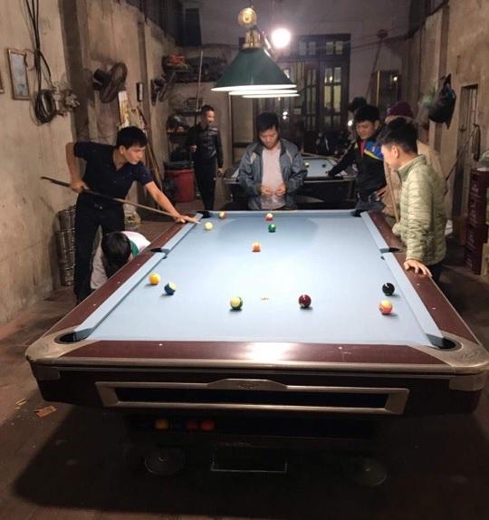 Billiards Hoàn Thúy lắp đặt thêm 2 bàn bi a 9017 và 9019 tại Từ Sơn, Bắc Ninh
