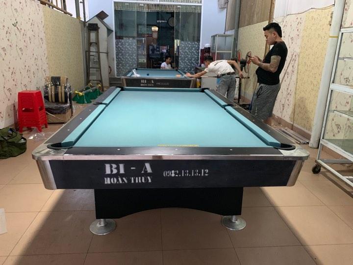 Billiards Hoàn Thúy lắp đặt 2 bàn 9018 Việt Nam tại Thường Tín, Hà Nội