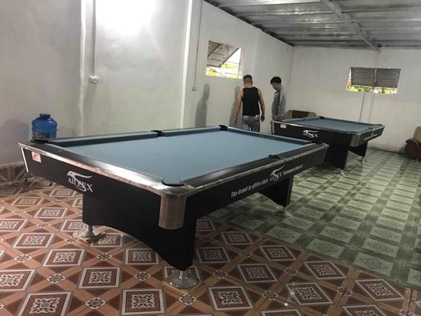 lắp đặt bàn bi a tại Nam Định