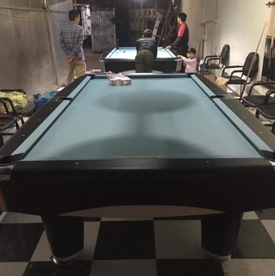 Billiards Hoàn Thúy lắp đặt 2 bàn 9017 liên doanh Taiwan tại Minh Phú, Sóc Sơn, Hà Nội