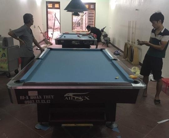Billiards Hoàn Thúy lắp đặt thêm 2 bàn bi a 9018 đã qua sử dụng tại Từ sơn Bắc Ninh