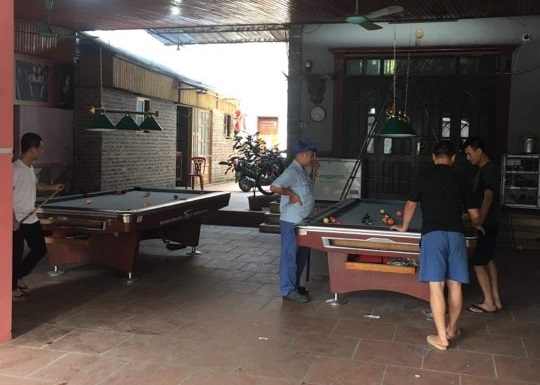 Billiards Hoàn Thúy lắp đặt 2 bàn 9019 tại Sóc Sơn, Hà Nội