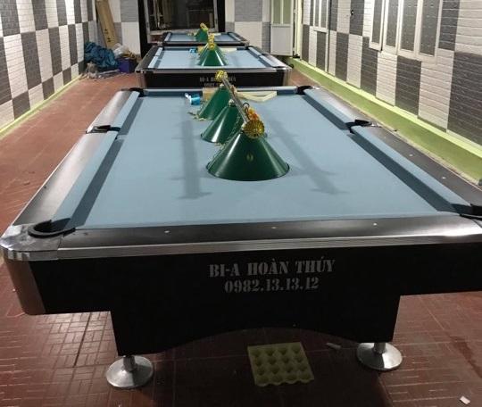 Billiards Hoàn Thúy lắp đặt 3 bàn 9018 liên doanh Taiwan tại Tân Kỳ, Nghệ An