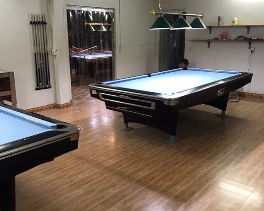 Billiards Hoàn Thúy lắp đặt 4 bàn aileex 9019 đã qua sử dụng tại Thường Tín, Hà Nội